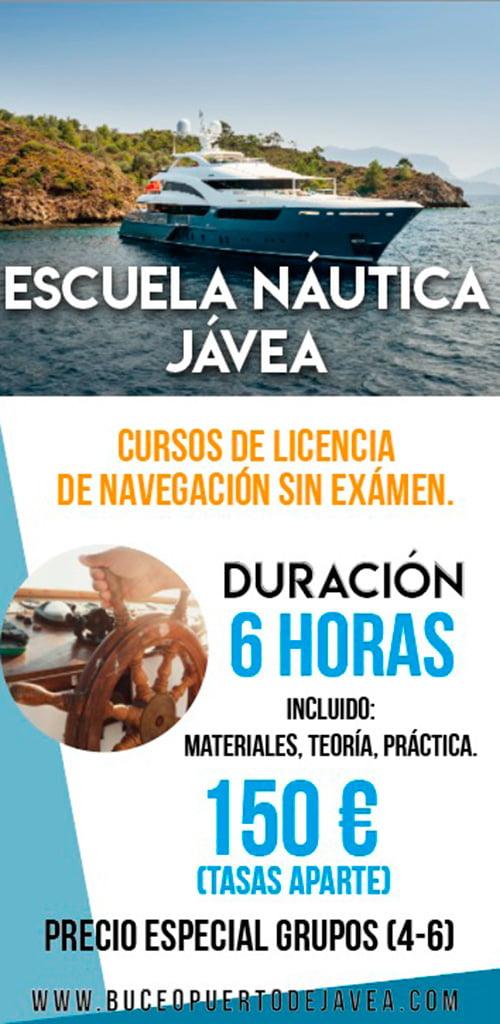Escuela Náutica Jávea - Buceo Puerto Javea