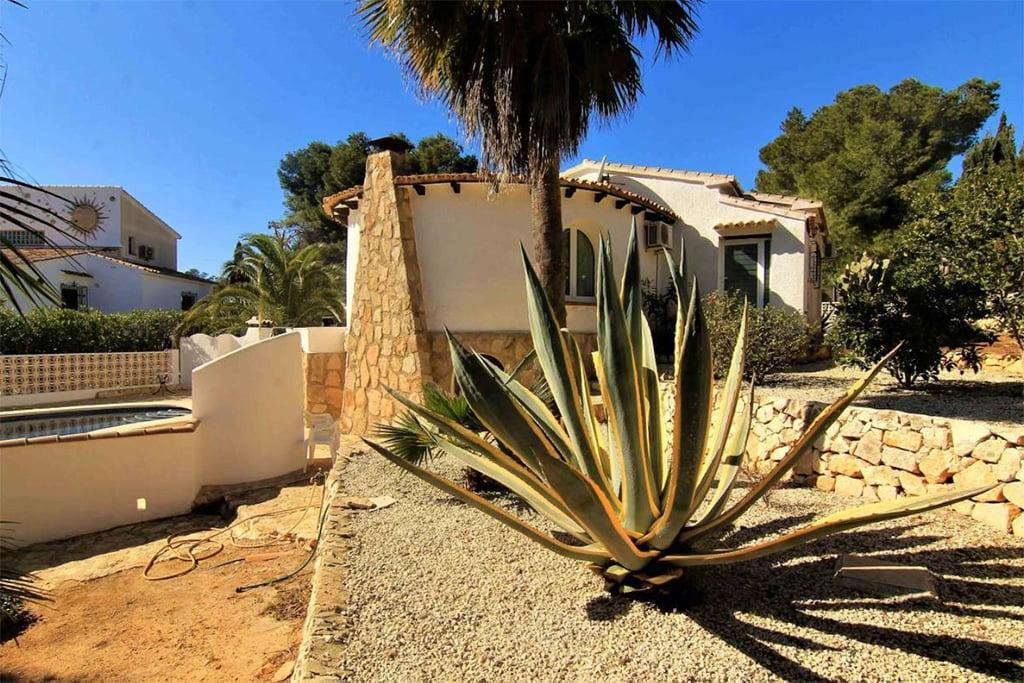 Außenansicht Chalet Jávea Angebotspreis - MORAGUESPONS Mediterrane Häuser