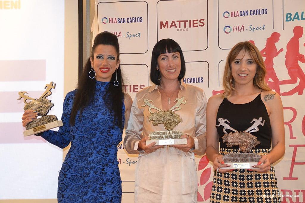 Gema Ann Selby, Natalia Campos e Aloma Martí