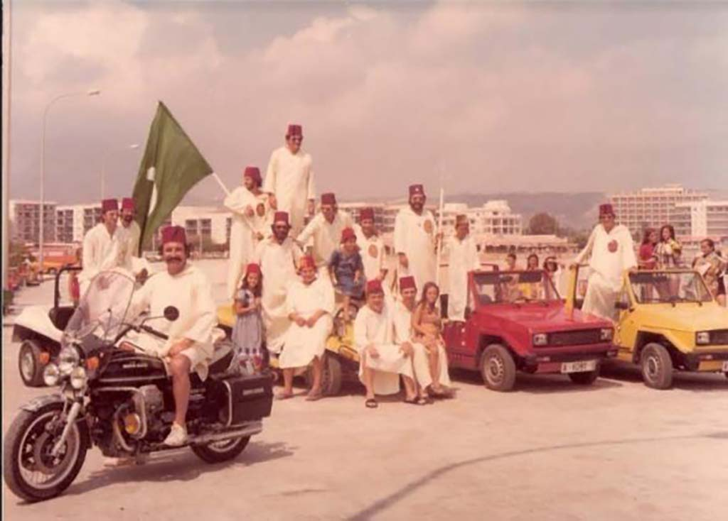Начало фестиваля мавров и христиан Хавеа
