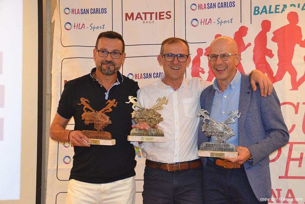 José Antonio Amorós, José Vicente Mañez e Josep Catalá