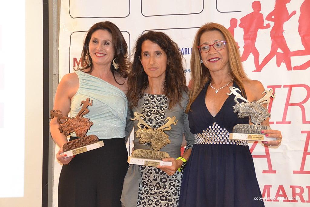 María Mulet, Consuelo Alemany e Violeta Gómez