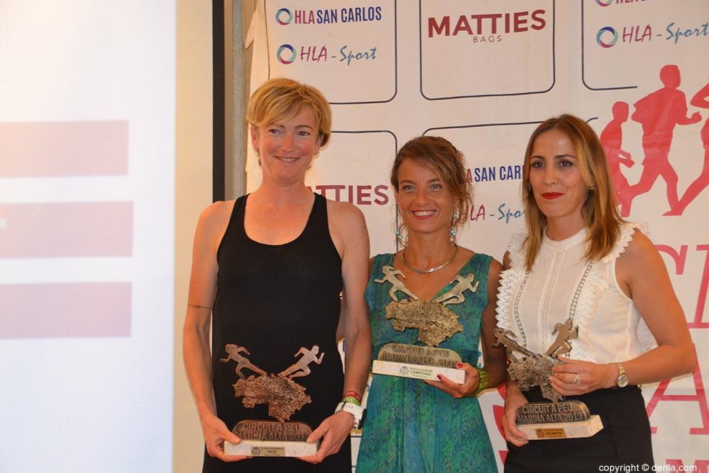 Marta Ortego, Carol Frasquet e Encarna Cardona