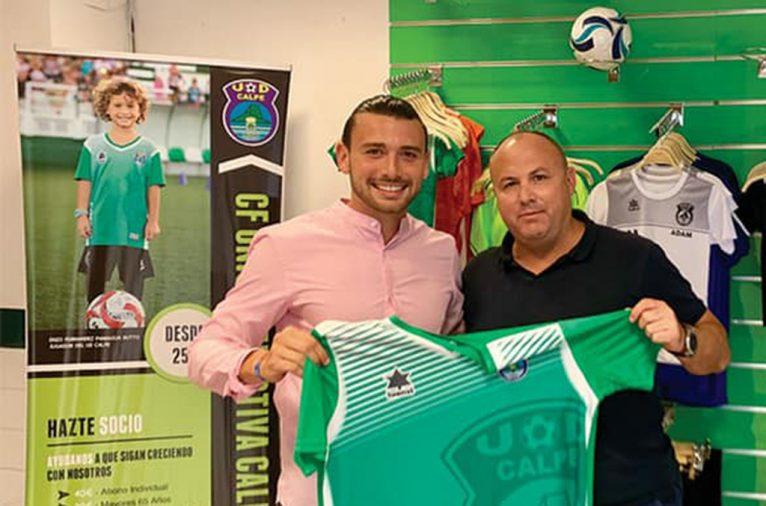 Michael Tomás junto a Raúl Paniagua