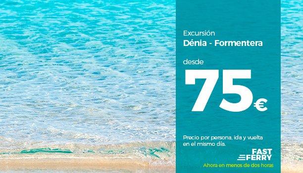 Oferta Ferry Dénia-Formentera con Balearia