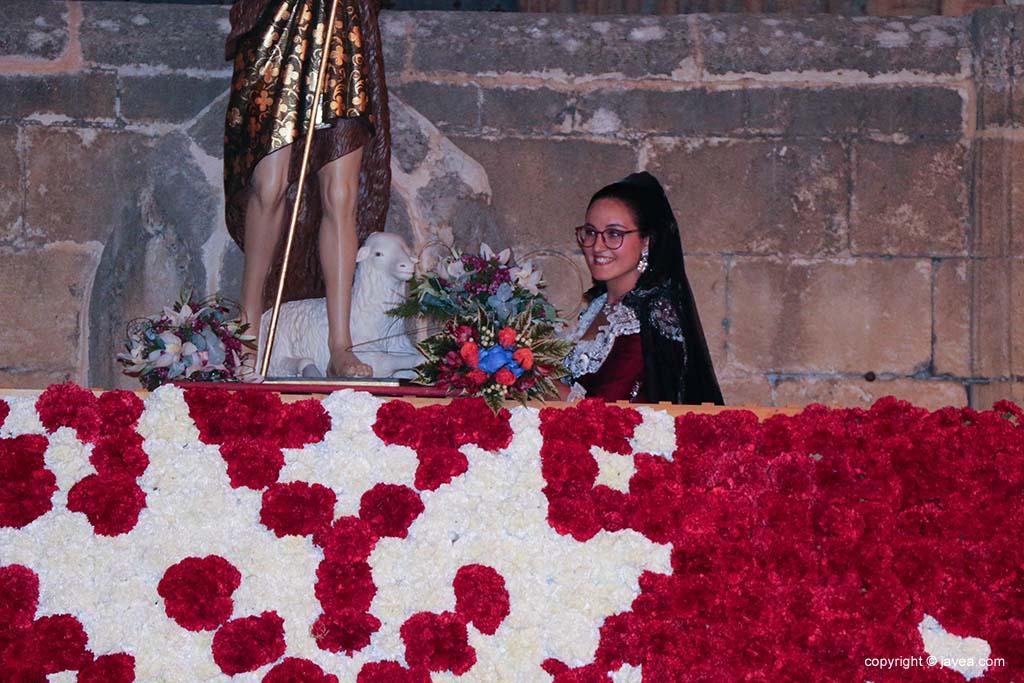 Ofrena de flors a Sant Joan-Fogueres 2019 (246)