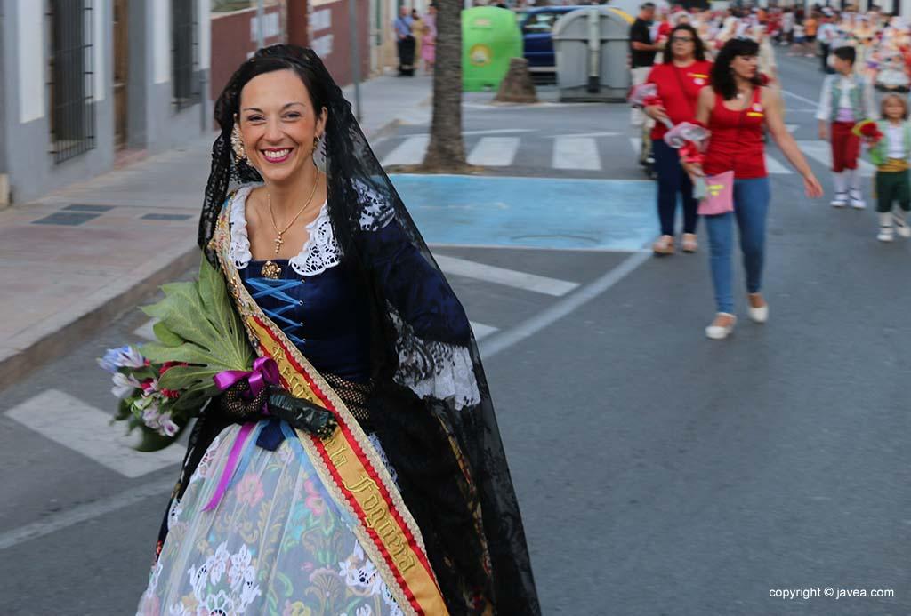Ofrena de flors a Sant Joan-Fogueres 2019 (33)