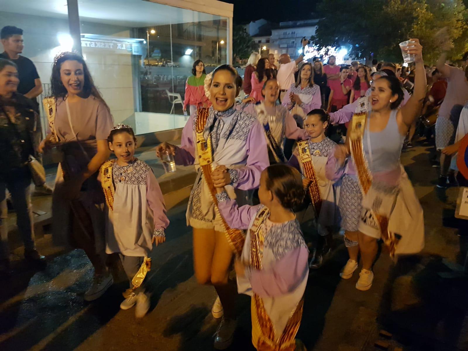 Королевы и дамы-пасакальские песни в Сан-Хуан