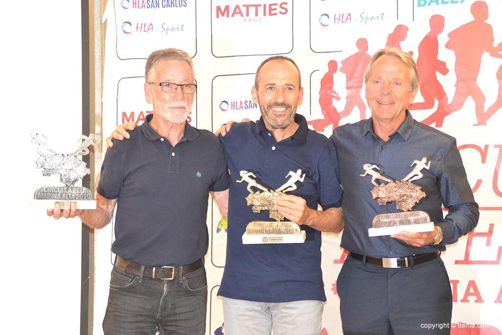 Salvador Signes, José Antonio Vera e Jord Straufm.