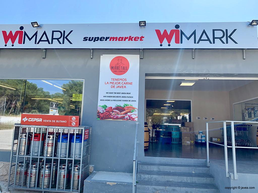 Supermarket WeMark Jávea - Miraltall