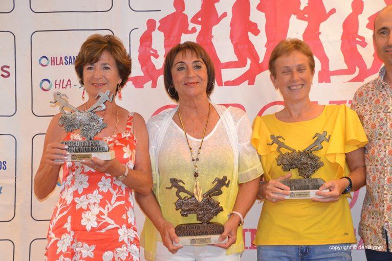 Sylvia Berger, Sole Martínez e María Vicente