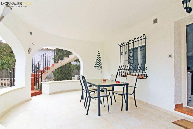 Chalet Jávea Terrasse Angebotspreis - MORAGUESPONS Mediterrane Häuser