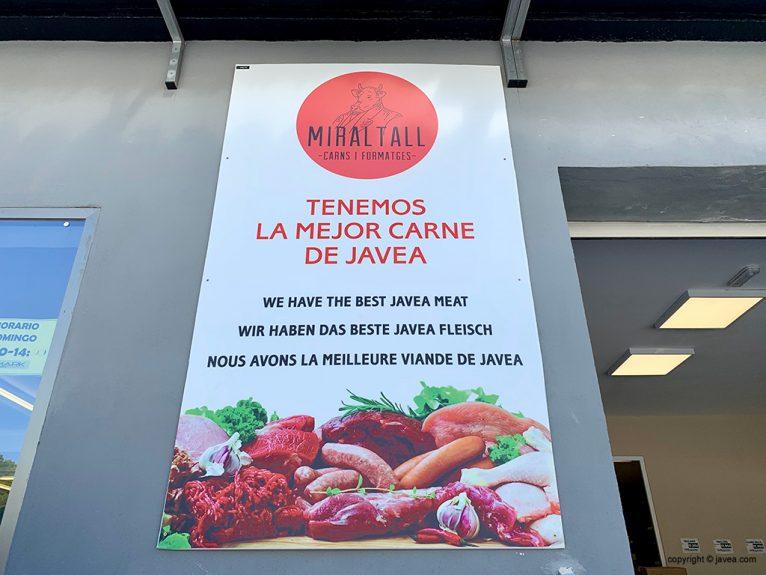 The Best Jávea Meat - Miraltall