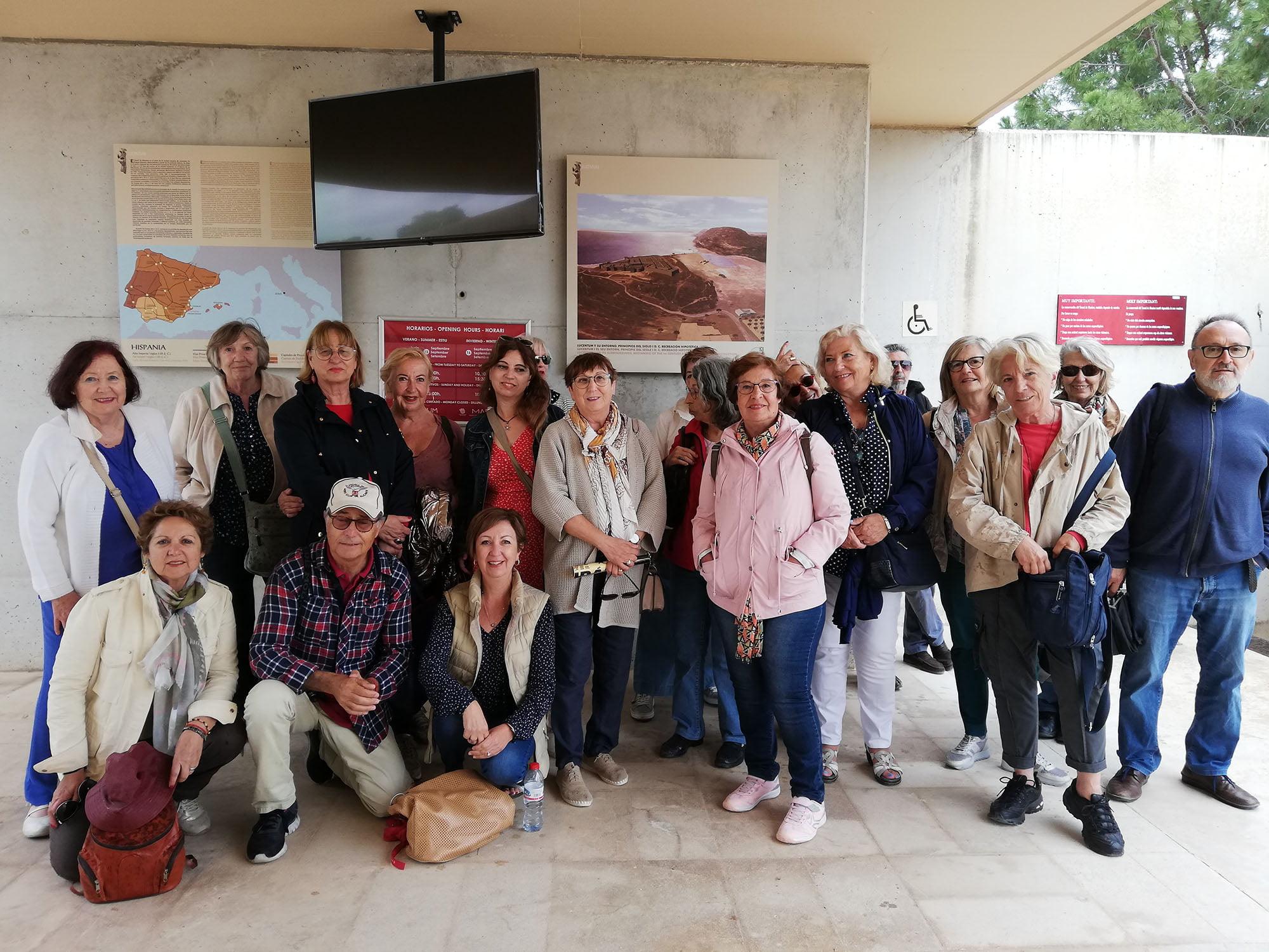 Estudantes de viagem da UNED Senior