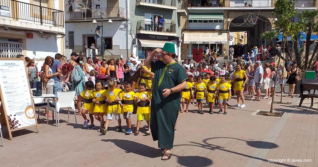 Desfilada Infantil de Moros i Cristians Xàbia 2019
