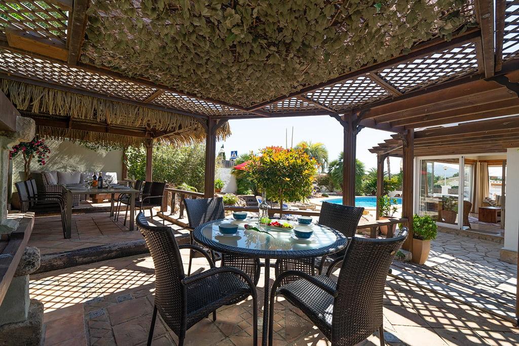 Casa com jardim em Jávea - Aguila Rent a Villa