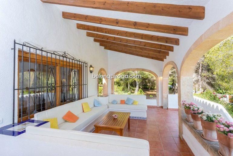 Casa amb terrassa coberta a Xàbia - Immobiliària Betlem Quiroga