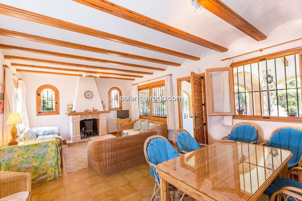Casa a la urbanització El Tossalet de Xàbia - Immobiliària Betlem Quiroga