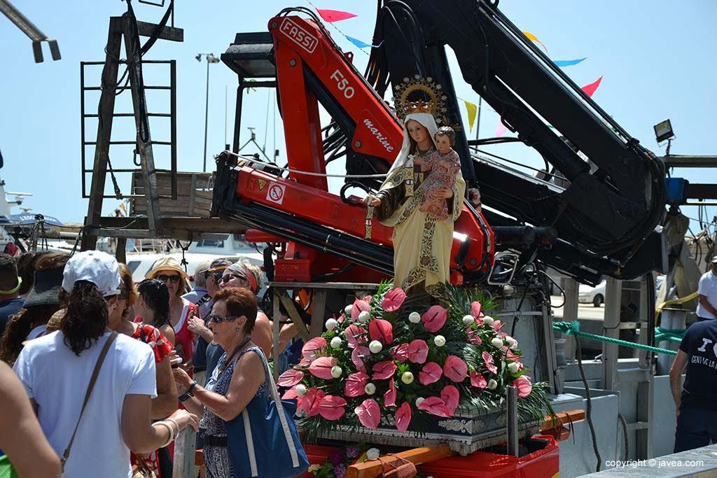 Procession marine à Xàbia