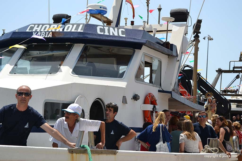 Processione marina a Xàbia