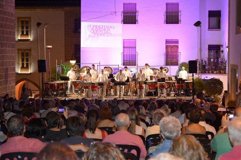 Trobada europea de percussió contemporània a Xàtiva bia