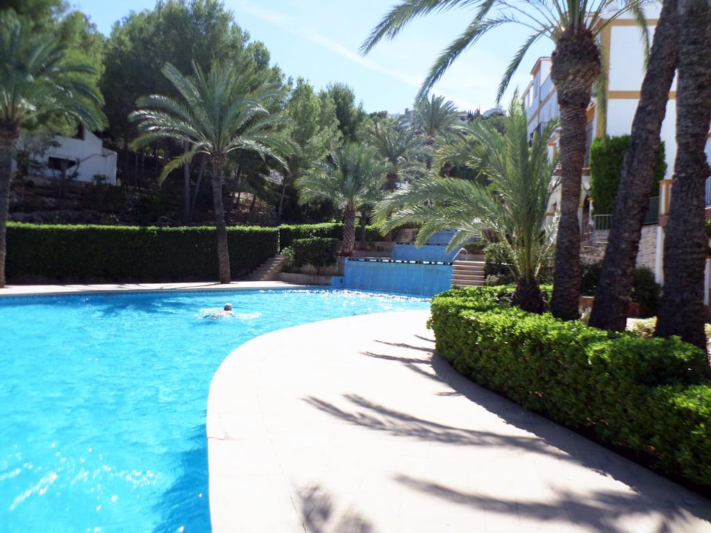 Exterior con piscina vivienda Promociones Denia