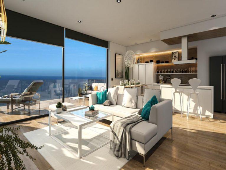 Apartamento de lujo con vistas al mar - Atina Inmobiliaria