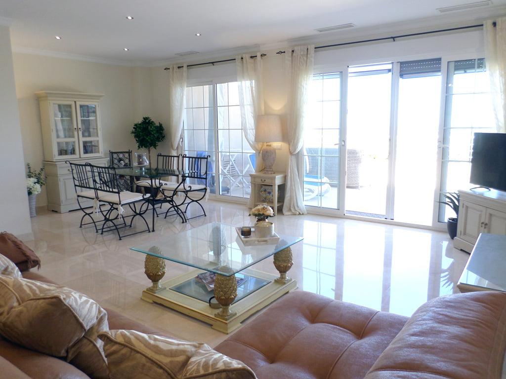 Interior vivienda Promociones Denia