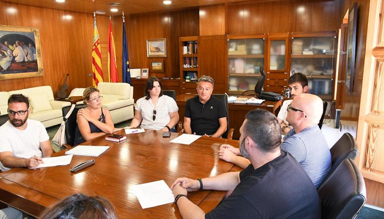 The new board of Historical Xàbia meets for the first time with the government team