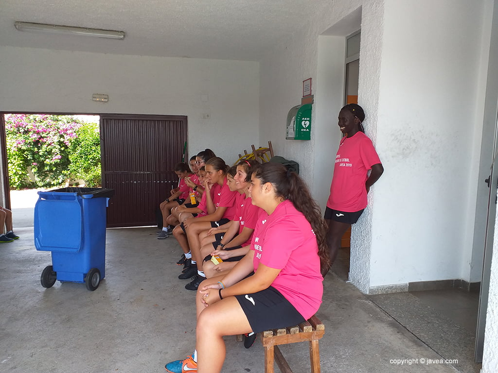 Участники женского кампуса