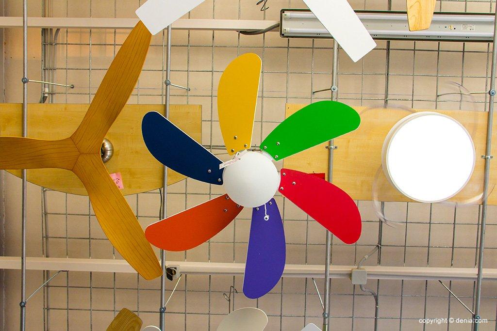 Ventilador colors - Vimaluz