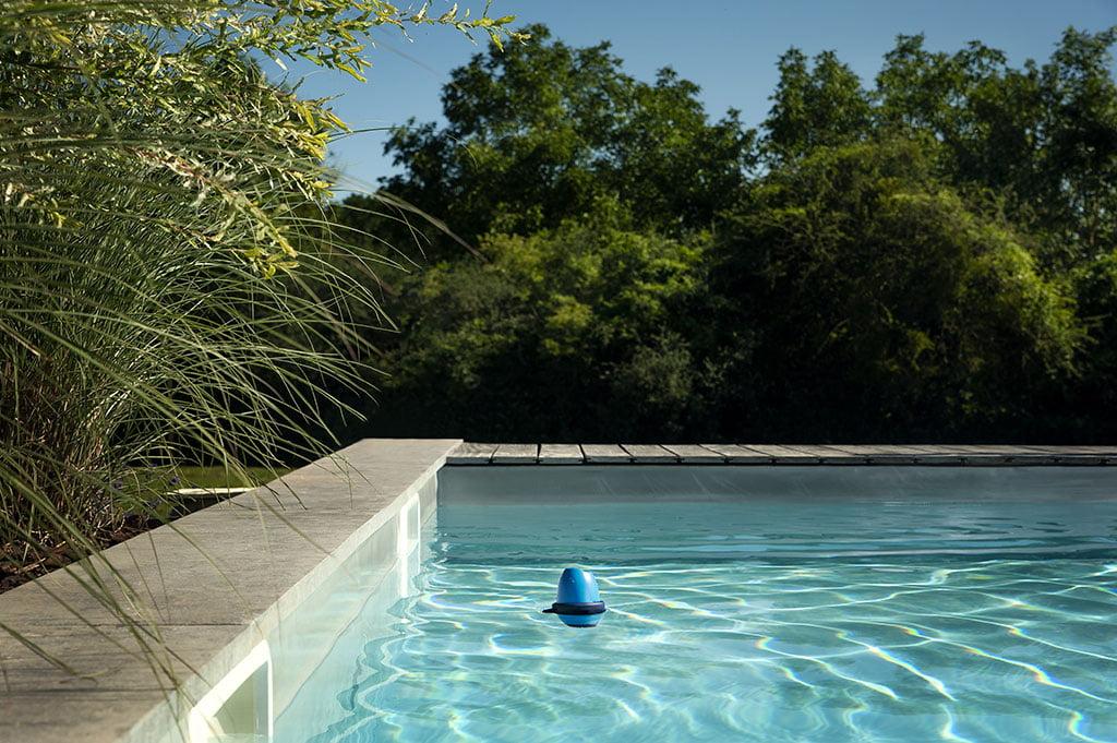 Blue Connect-applicatie om zwembadwater te regelen - Sanexabia Sanitatie