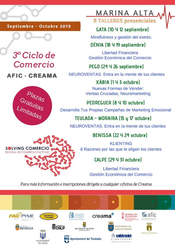 Impacto Training Calendario.Creama Unveils And Opens The Inscriptions For The New