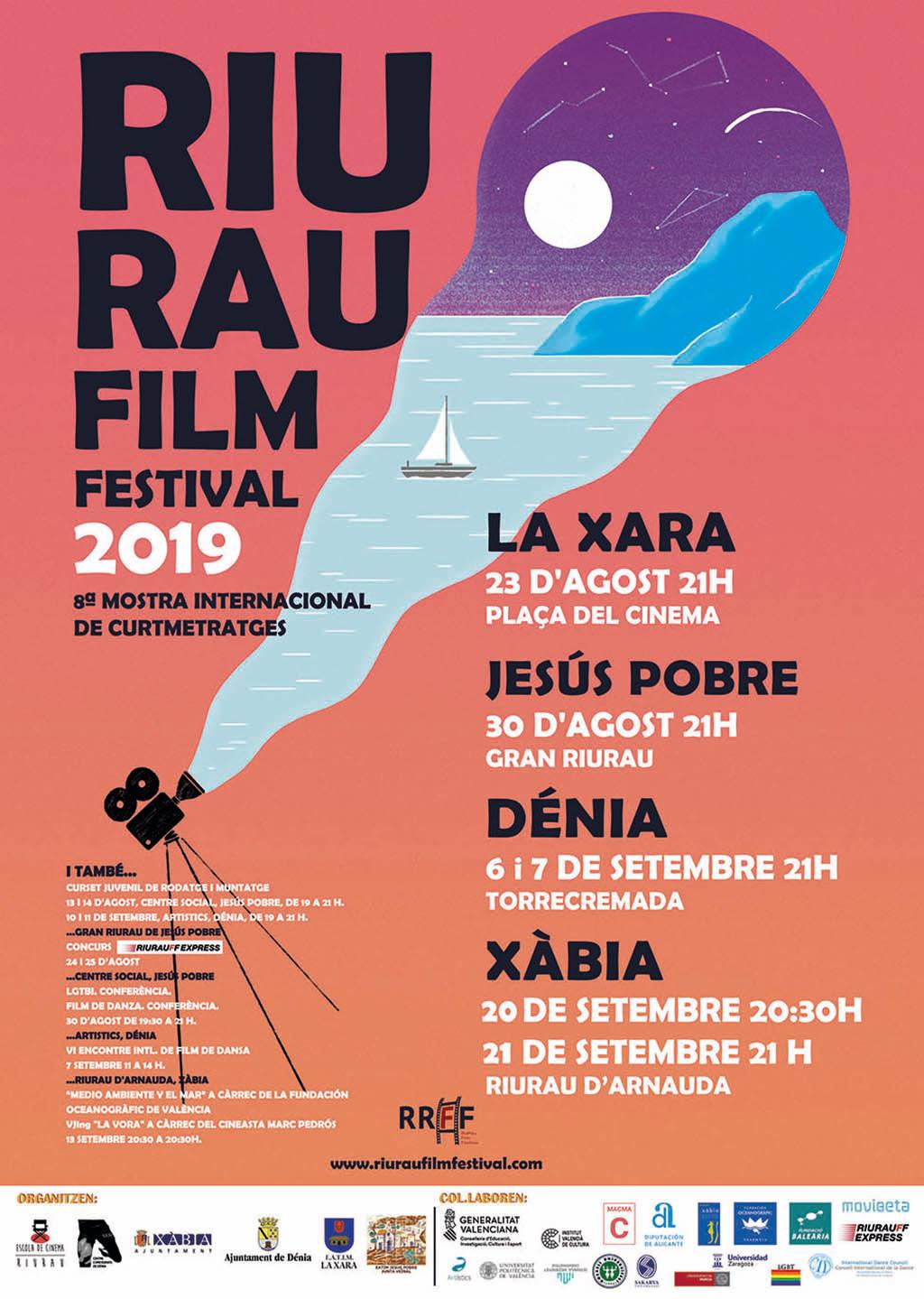 Cartaz do festival de cinema de Riurau