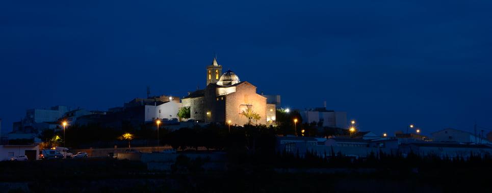 Iglesia Poble Nou de Benitxell