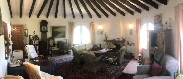 Salón en chalet en venta en Jávea - Terramar Costa Blanca