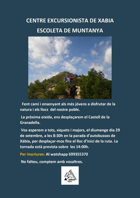Image: Activities of Escoleta de muntanya