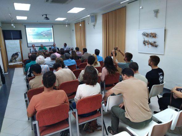 Imatge: Acte de presentació de resultats del projecte a Pego
