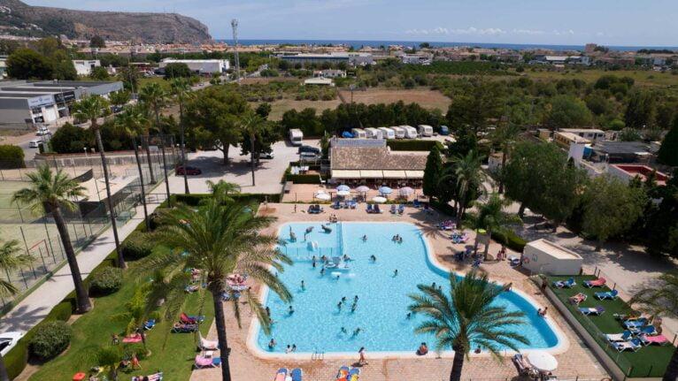 Camping con piscina en Javea - Camping Javea