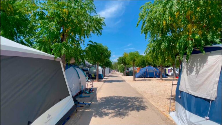 Camping Javea tiendas - Camping Javea
