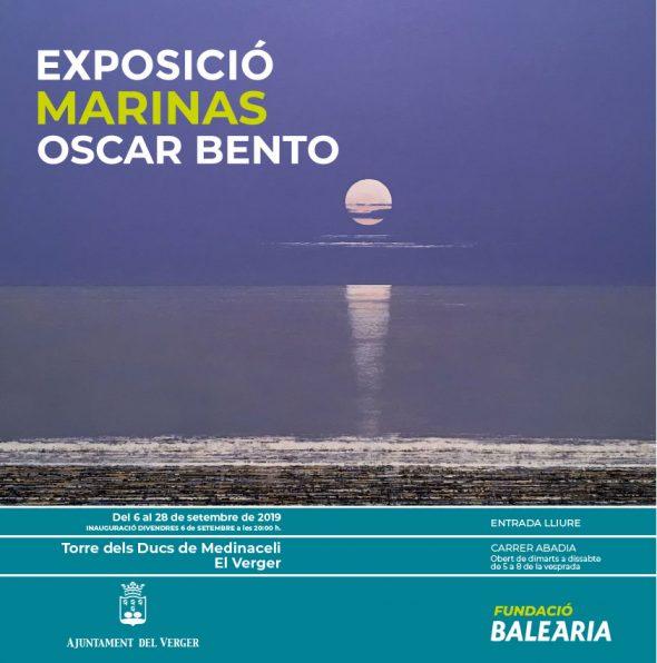 Afbeelding: Poster van de Oscar Bento-tentoonstelling in El Verger