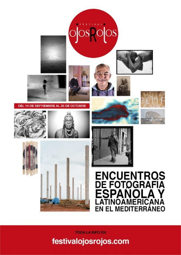 Image: Affiche du festival de photographie Red Eyes