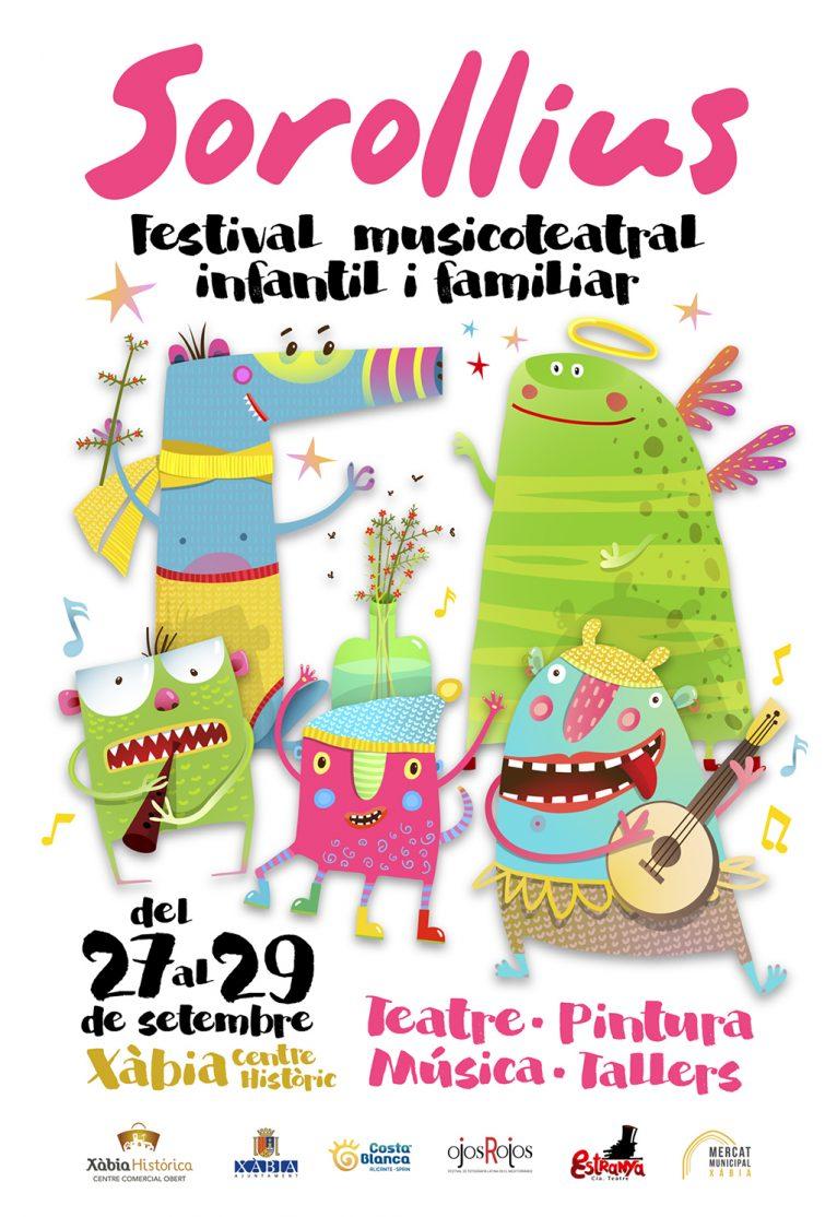 Cartel del Festival Sorollius