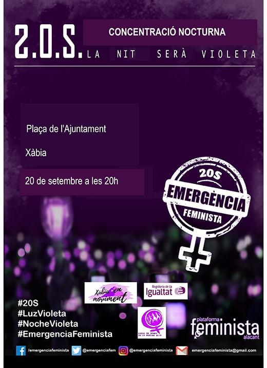 Изображение: плакат феминистского движения в Хавеях