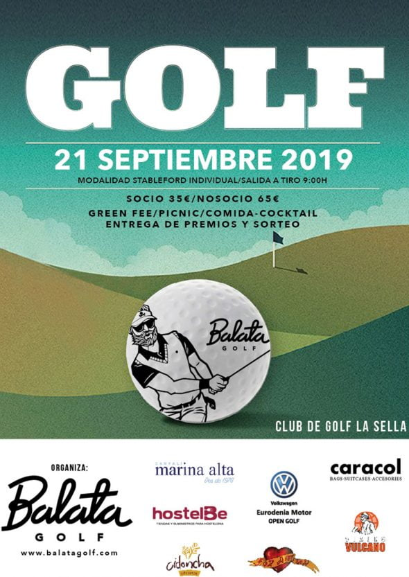 Imatge: Cartell Trofeu Balata 2019 - La Sella Golf