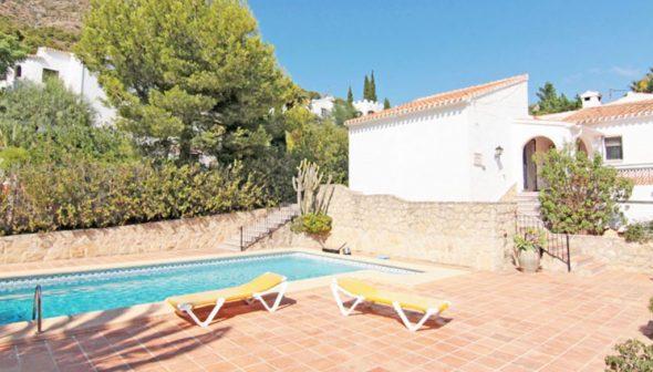 Afbeelding: Huis met zwembad te koop in Jávea- MORAGUESPONS Mediterrane huizen