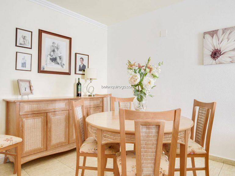 Sala de jantar de um apartamento à venda em Jávea - Inmobiliaria Belen Quiroga