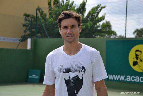 Imagen: David Ferrer en el CT Jávea