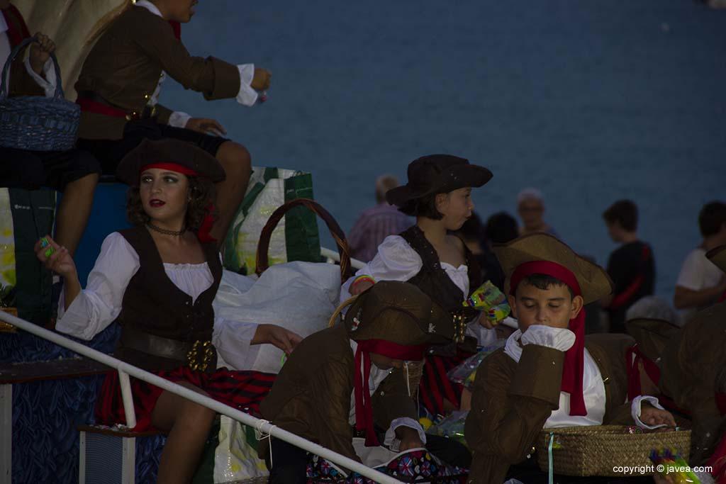 Desfilada de carrosses de les festes de Loreto 2019