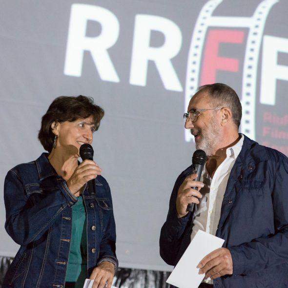 Bild: Dora Martí vom IVAC und José Ramón Cardona